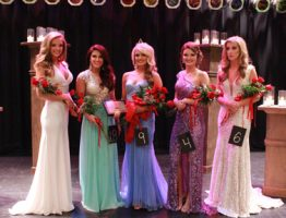 Participants in the 2015 JCJC beauty pageant.