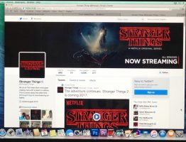 The Stranger Things Twitter page.