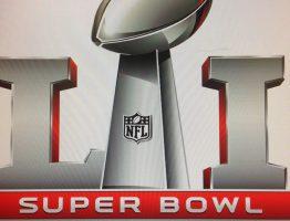 The 2017 Superbowl logo.