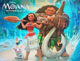 The Moana official movie poster.