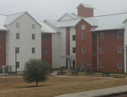 Anderson Hall in the heart of the JCJC campus.